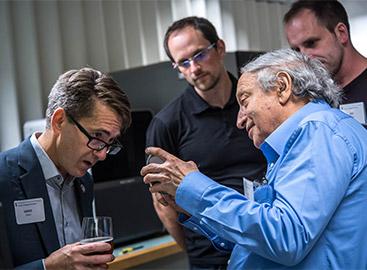 Makerspace Launch James Olson and Dan Gelbart